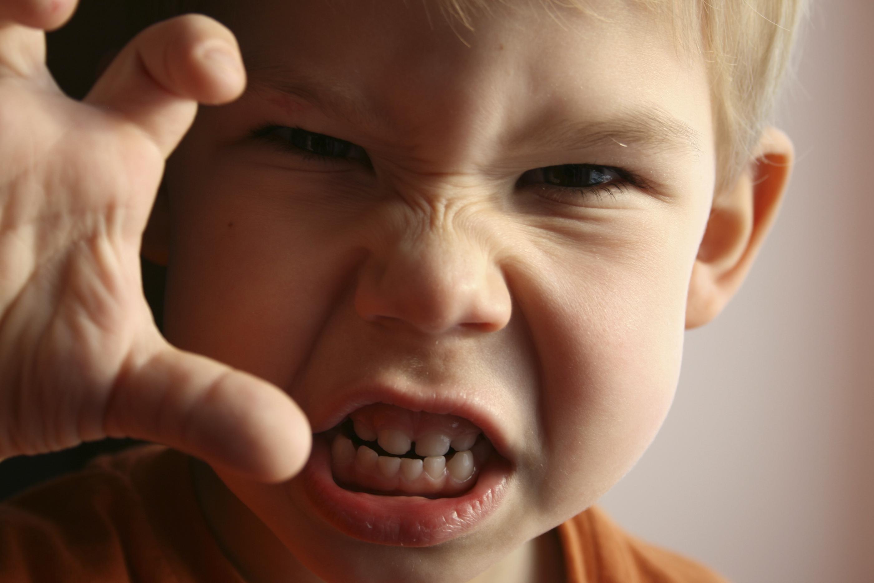 napady złości